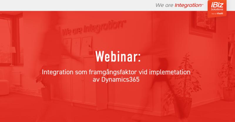 Integration med Dynamics365